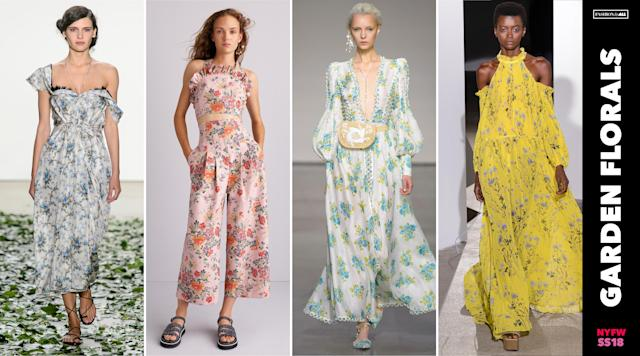 <p><i>The verdict is in, and florals are not going anywhere. Beautiful, whimsical floral printed dresses and jumpsuits tailor-made for a garden party will remain a springtime wardrobe staple. (Photo: ImaxTree) </i></p>