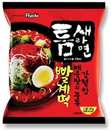 Photo: Paldo Teumsae Instant Noodles With Soup