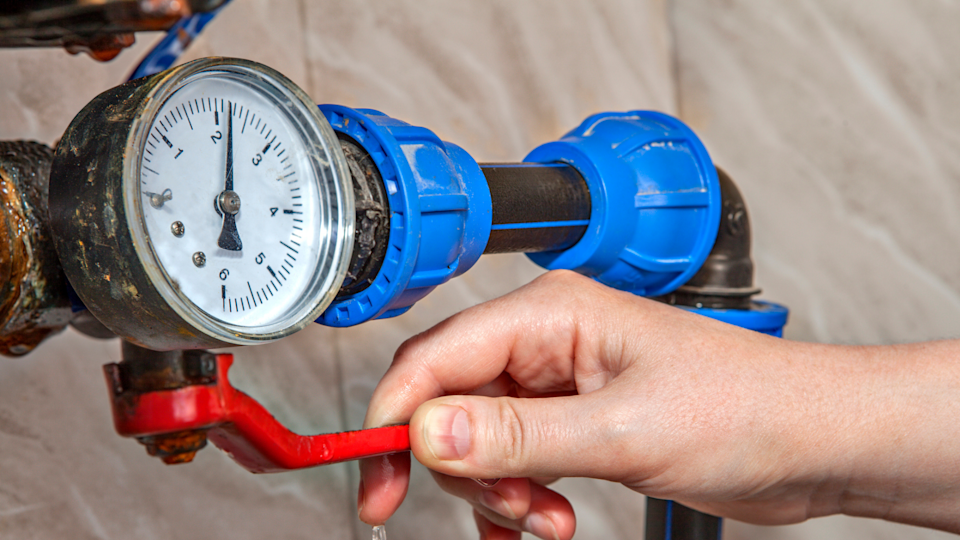 If you're not sure how to turn off your home's water supply, call up a local plumbing service to see if they can guide you through it over the phone until they get to your house.