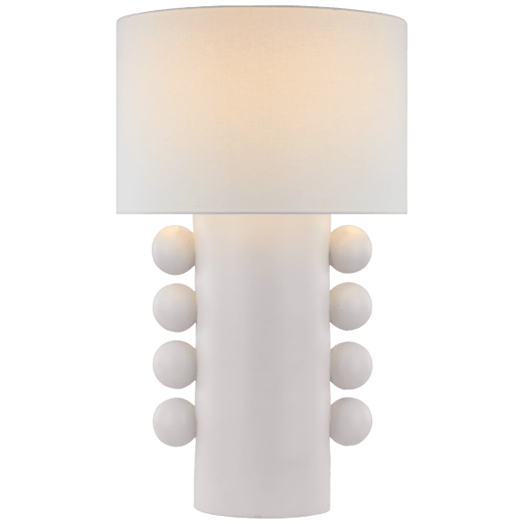 "<p><strong>Visual Comfort</strong></p><p>circalighting.com</p><p><strong>$749.00</strong></p><p><a href=""https://www.circalighting.com/tiglia-tall-table-lamp-kw3687/"" rel=""nofollow noopener"" target=""_blank"" data-ylk=""slk:Shop Now"" class=""link rapid-noclick-resp"">Shop Now</a></p><p>Quirky ceramic shapes are trending. Hop on the bandwagon with this fun table lamp. </p>"