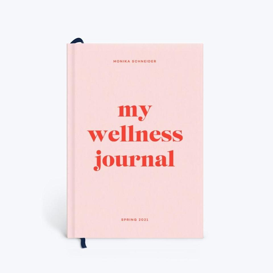 <p>The nice thing about this <span>Papier Joy Wellness Journal</span> ($33) is that you can customize it, which means it's a great gift.</p>
