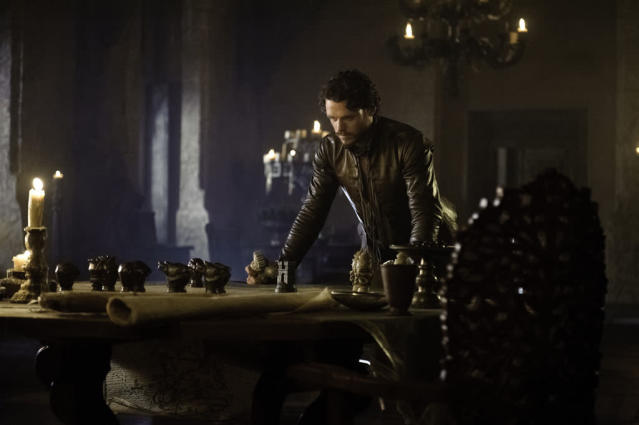 """Richard Madden in the """"Game of Thrones"""" Season 3 episode, """"Kissed by Fire."""""""