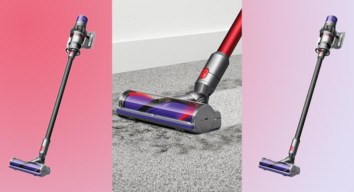 The Dyson Cyclone V10 is a force of nature. (Photo: Dyson)