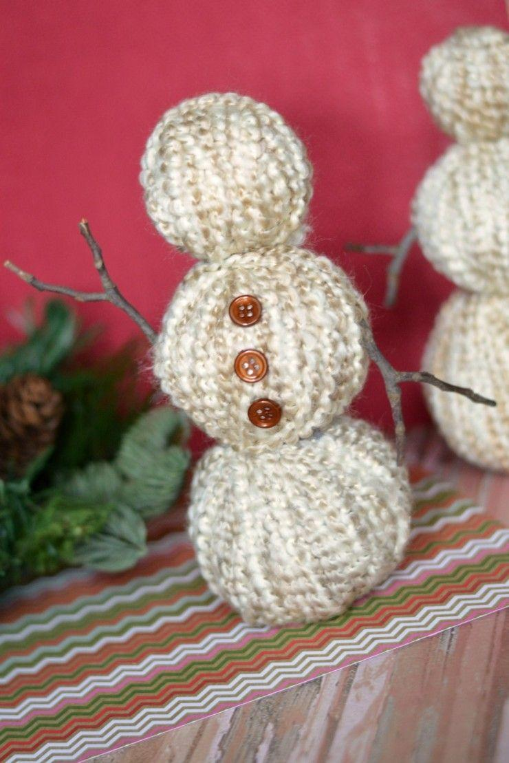 "<p>Customize these snowmen to match the Christmas colors you've chosen for the other <a href=""https://www.countryliving.com/home-design/decorating-ideas/advice/g1247/holiday-decorating-1208/"" rel=""nofollow noopener"" target=""_blank"" data-ylk=""slk:holiday decor"" class=""link rapid-noclick-resp"">holiday decor</a> in your home.</p><p><strong>Get the tutorial at <a href=""http://www.frugalmomeh.com/2015/11/yarn-wrapped-snowmen.html"" rel=""nofollow noopener"" target=""_blank"" data-ylk=""slk:Frugal Mom Eh"" class=""link rapid-noclick-resp"">Frugal Mom Eh</a>.</strong></p><p><a class=""link rapid-noclick-resp"" href=""https://www.amazon.com/Lion-Brand-Yarn-792-412-Homespun/dp/B0091UDG10?tag=syn-yahoo-20&ascsubtag=%5Bartid%7C10050.g.22825300%5Bsrc%7Cyahoo-us"" rel=""nofollow noopener"" target=""_blank"" data-ylk=""slk:SHOP YARN"">SHOP YARN</a></p>"