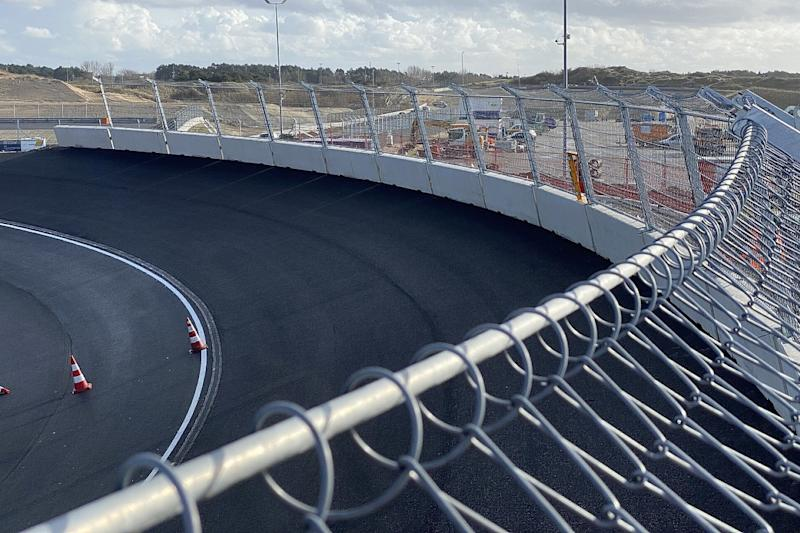 First images of complete Zandvoort banking revealed