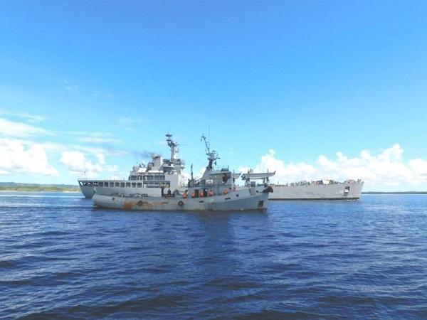 India, Madagascar navies undertake joint patrolling of Madagascar's Exclusive Economic Zone