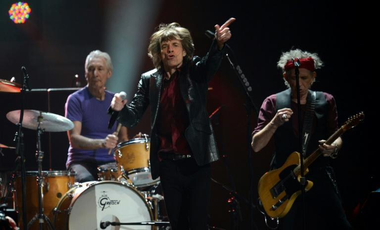 Still rocking well into their 70s, Charlie Watts (L), Mick Jagger (C) and Keith Richards (R) of the Rolling Stones