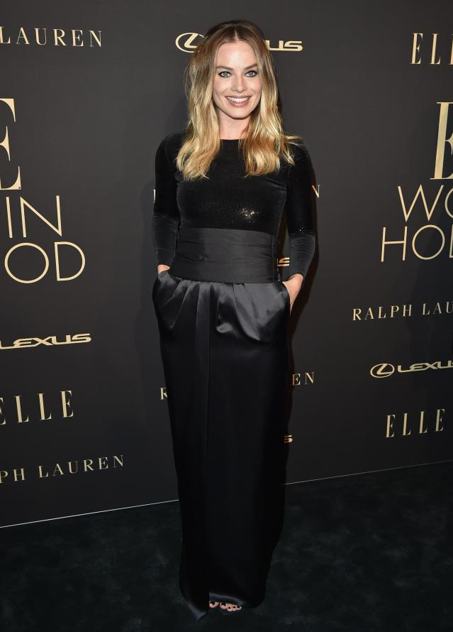 BEVERLY HILLS, CALIFORNIA - OCTOBER 14: Margot Robbie attends the 2019 ELLE Women In Hollywood at the Beverly Wilshire Four Seasons Hotel on October 14, 2019 in Beverly Hills, California. (Photo by Axelle/Bauer-Griffin/FilmMagic)