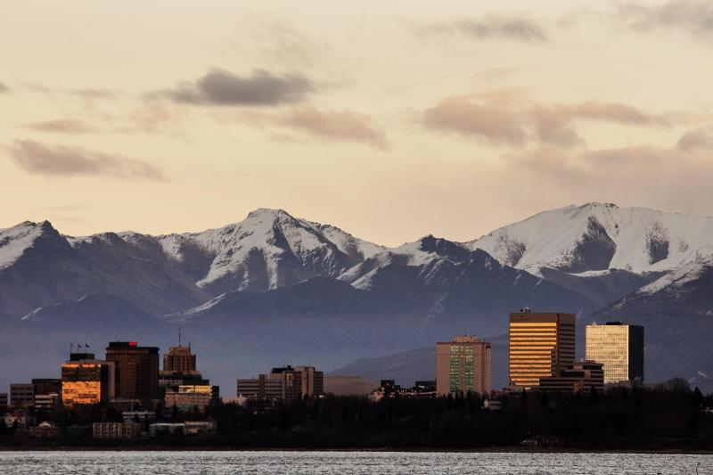 Anchorage's maximum average temperature from September to March was higher than any other year since 1952 when record keeping for the city began, according to the National Weather Service.