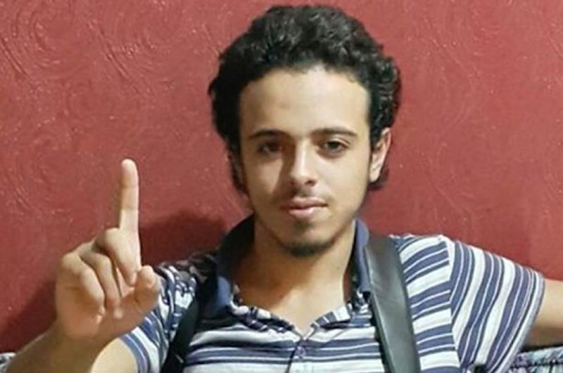 This undated and unlocated image shows French national Bilal Hadfi, 20, one of the suicide bombers who blew himself up outside the Stade de France stadium during the Paris attacks on November 13 , 2015