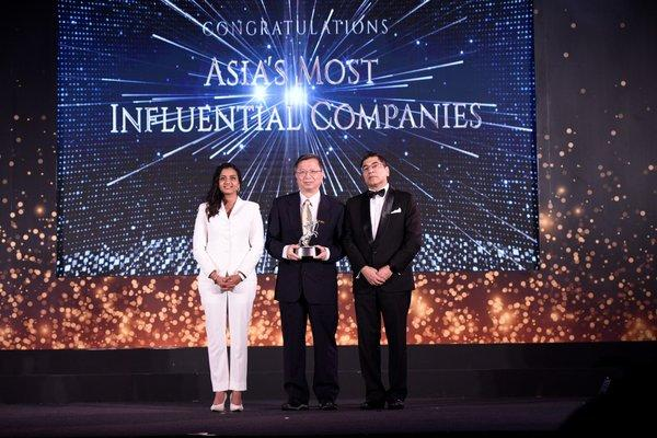 CPC Corporation, Taiwan receives Asia's Most Influential Companies Award and Green Innovation Award