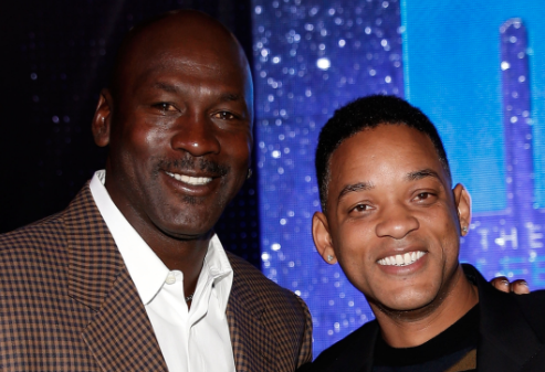 "<a class=""link rapid-noclick-resp"" href=""/mlb/players/9193/"" data-ylk=""slk:Will Smith"">Will Smith</a> might produce a movie about Michael Jordan's year in the minor leagues. (Getty Images)"