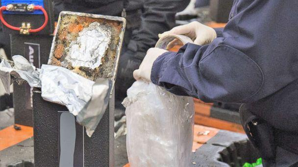 PHOTO: Customs and Border Protection agents discovered methamphetamine hidden in speakers at the Long Beach seaport in mid-January. (U.S. Customs and Border Protection)
