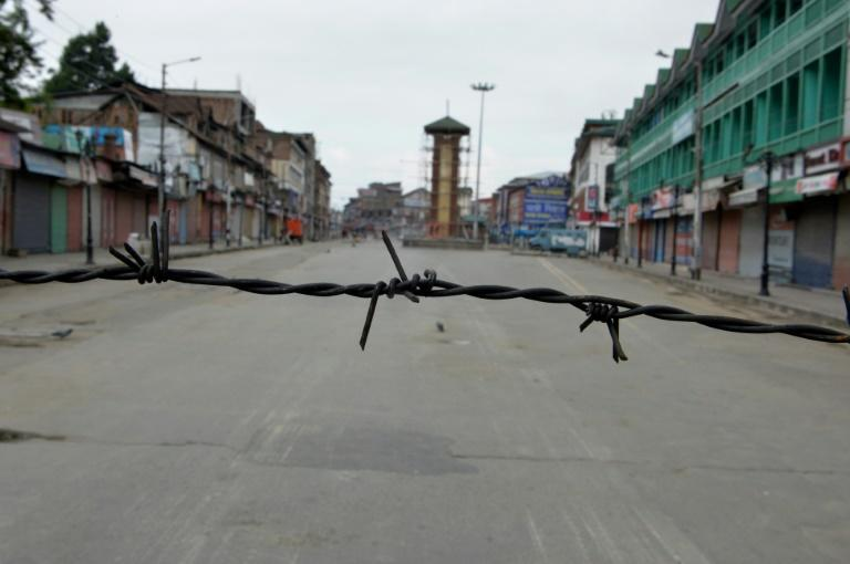 Kashmir's main city Srinagar is under military lockdown, shuttering businesses and complicating the celebration of Eid al-Adha