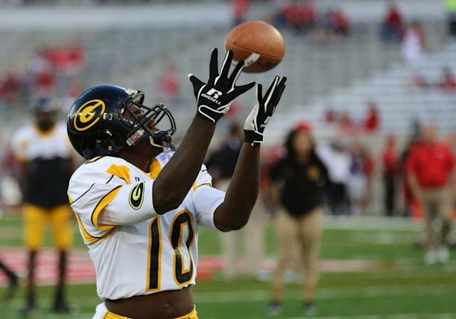 Chad Williams is hoping to catch on as Grambling's first player to be drafted in the NFL since 2006. (Getty Images)