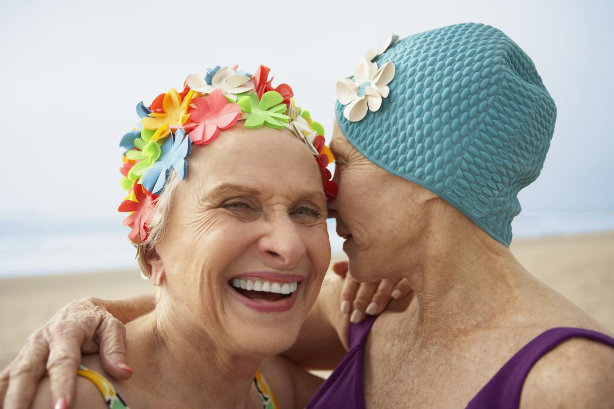 Just being alongside someone without judging can help. (Getty Images)