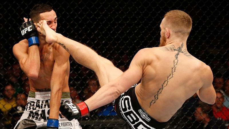 Holloway and McGregor fought in 2013. Pic: Getty
