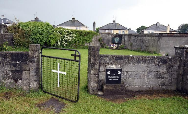 A shrine in Tuam, County Galway  erected in memory of up to 800 children who were allegedly buried at the site of the former home for unmarried mothers run by nuns, on June 9, 2014