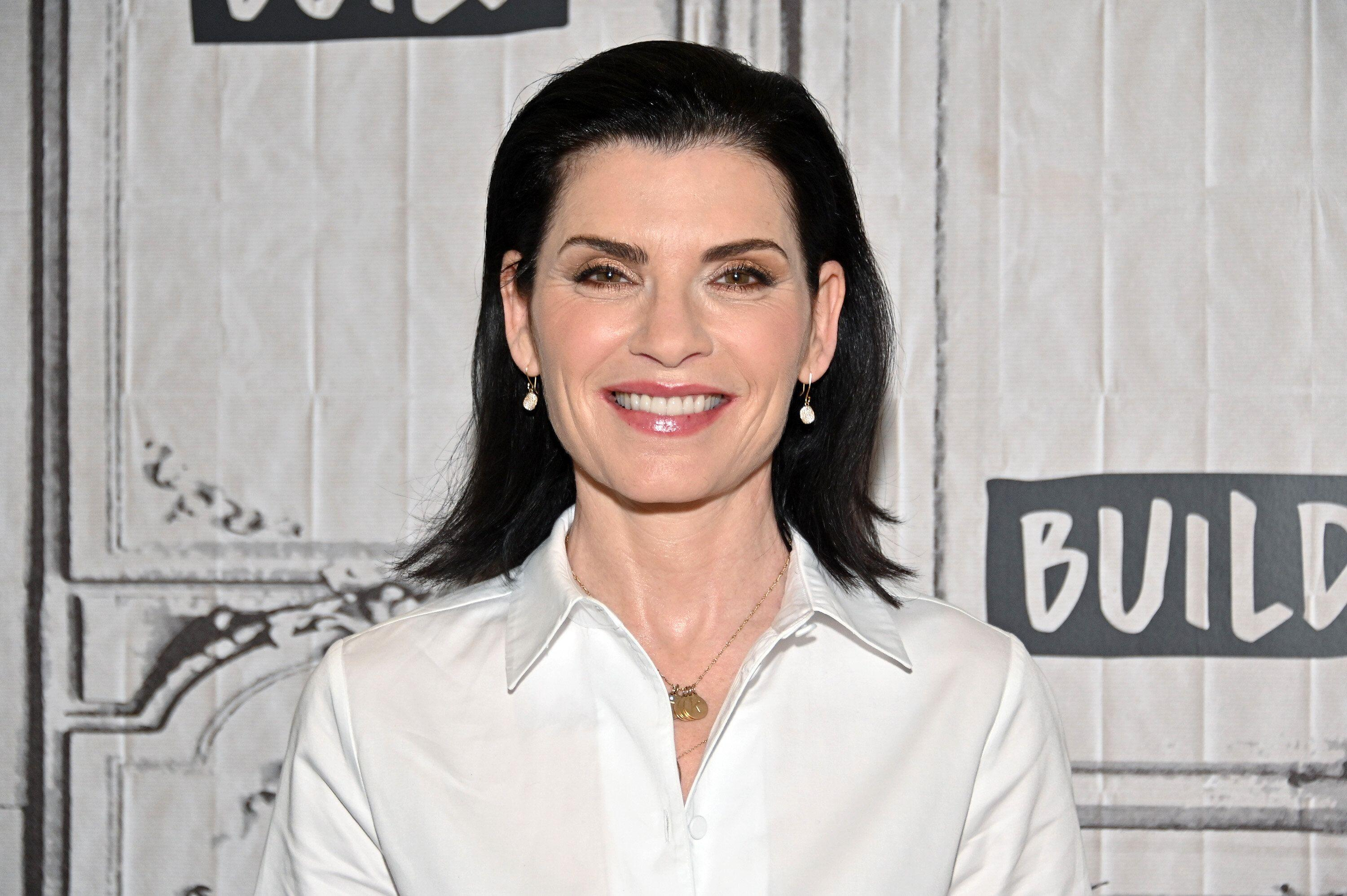 "Julianna Margulies discusses her new show, ""The Hot Zone,"" on May 23, 2019, at Build Studio in New York City. (Photo: Dia Dipasupil/Getty Images)"