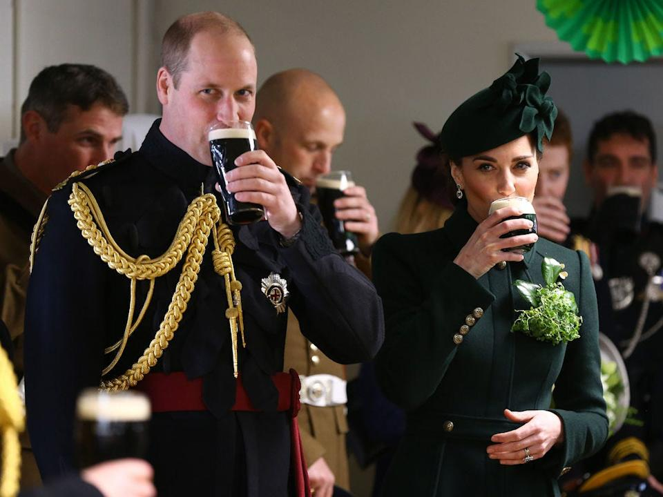 Kate and William St Patrick's Day