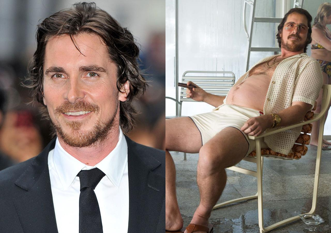 "<p>After playing the buff Batman for years, Bale really let himself go to play conman Irving Rosenfeld, putting on 43 lbs (3 stone) for the role, injuring himself in the process. ""At one point I said enough already,"" said his director David O Russell. ""He lost three inches of height, and even got a herniated disc.""</p>"