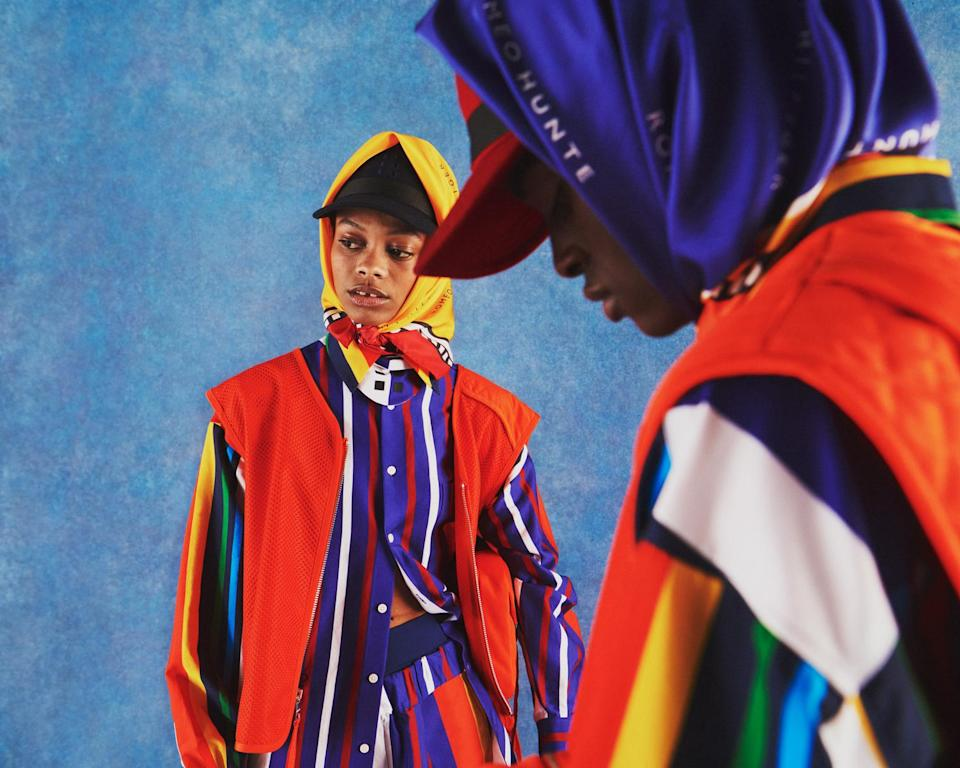 Pieces from the Tommy Hilfiger x Romeo Hunte collaboration. - Credit: Courtesy Photo