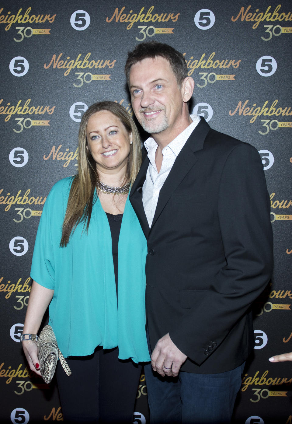 "Matthew Wright attending ""Neighbours turns 30 -  a celebration evening"" at Cafe De Paris in Leicester Square, London."
