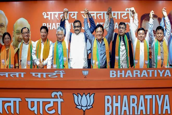 bjp news, BJP in Sikkim, bjp in northeast, sdf mlas join bjp, Sikkim Democratic Front latest news, pawan chamling, sdf sikkim, JP Nadda, Sikkim assembly, sikkim news