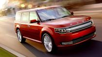 """<p><strong>Ford: Flex, Fiesta, Taurus</strong></p> <p>Ford's lineup cull continued in 2019. This year is officially the last one for <a href=""""https://www.autoblog.com/2019/10/28/ford-flex-discontinued/"""" data-ylk=""""slk:the Ford Flex"""" class=""""link rapid-noclick-resp"""">the Ford Flex</a>, an old but still lovable vehicle. The <a href=""""https://www.autoblog.com/2018/09/06/ford-fiesta-st-line-us-2019/"""" data-ylk=""""slk:Fiesta"""" class=""""link rapid-noclick-resp"""">Fiesta</a> and <a href=""""https://www.autoblog.com/2019/05/21/ford-taurus-china/"""" data-ylk=""""slk:Taurus"""" class=""""link rapid-noclick-resp"""">Taurus</a> are finally going to see production end as well, though their deaths were announced a while back. New Fords are on the way to fill the lineup with crossovers and SUVs, but we'll miss the perky Fiesta and fantastic utility from the Ford Flex.</p>"""