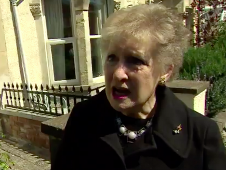 Brenda reacted with horror at the news of another general election (Twitter)