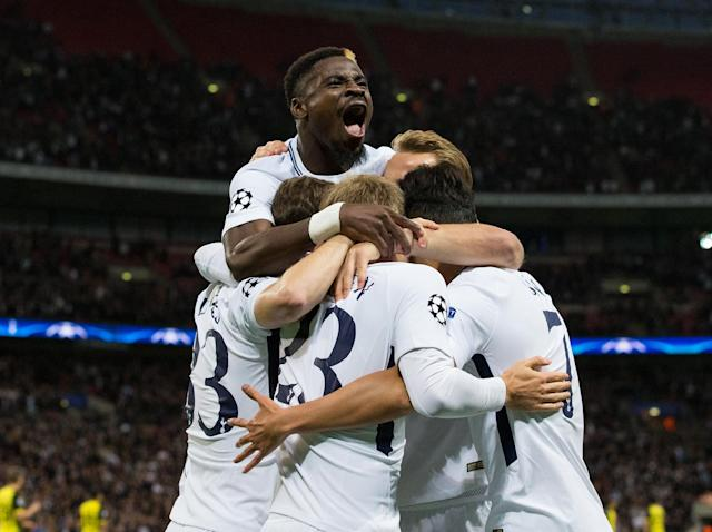 Harry Kane scores a brace as Tottenham beat Borussia Dortmund for Maurico Pochettino's first big win at Wembley