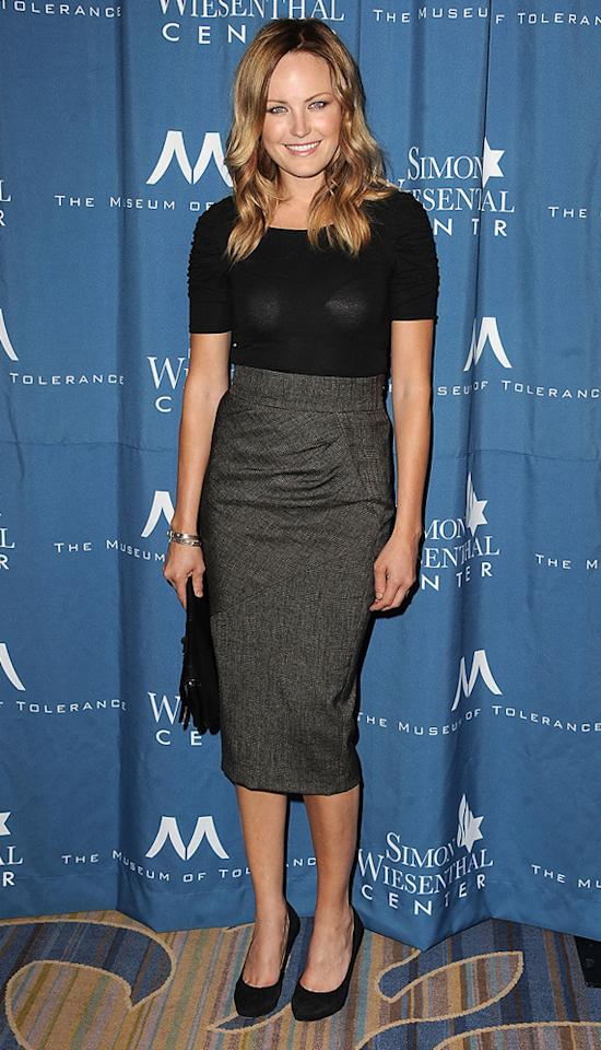 """<a href=""""http://movies.yahoo.com/movie/contributor/1808422842"""">Malin Akerman</a> attends the 2011 Wiesental Center National Tribute Dinner In Honor Of Tom Cruise in Los Angeles on May 5, 2011."""