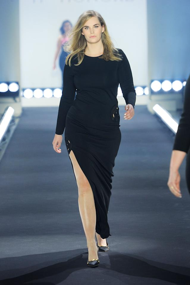 67e76fa8a46 Shop every look from the 11 Honoré plus-size NYFW show