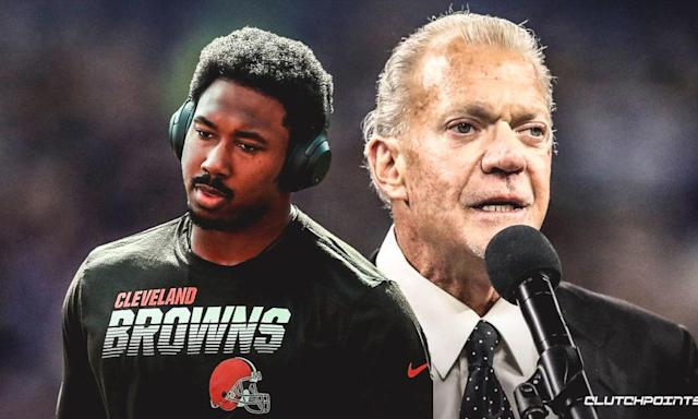 Colts Owner Jim Irsay On Myles Garrett Suspension: 'Everybody Makes Mistakes In Life'