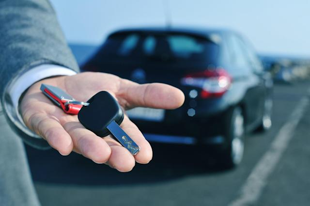 Renting a car (The Telegraph)