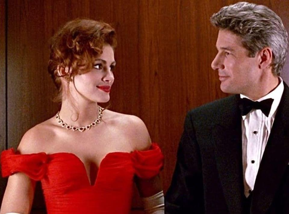 <p>The <em>Pretty Woman </em>jewelry box scene is one of the top romantic comedy moments of all time — but the ruby and diamond necklace inside of it was just as legendary.</p>