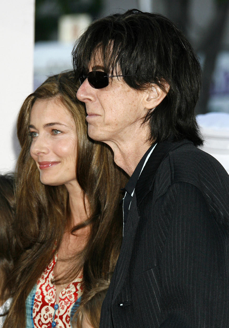 "Porizkova (pictured with Ocasek in 2006) says she ""wasn't desired or wanted by anyone, career or private life."" (Photo: REUTERS/Fred Prouser)"