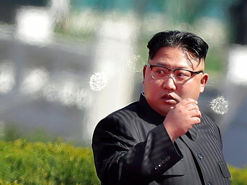 North Korea 'FIRES missile' after threatening USA with war