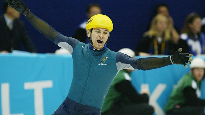 Steven Bradbury first found fame as Australia's first winter Olympic champ. Photo: Getty Images