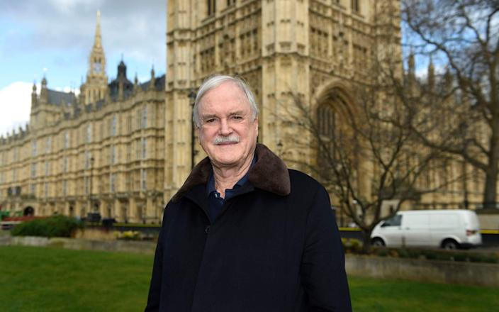 John Cleese, 81, came out to defend the Harry Potter author on Twitter - PA