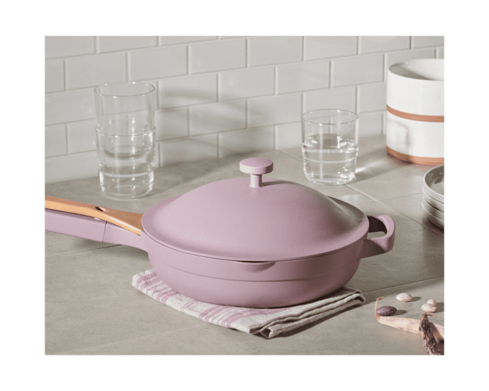 <p>If you've been on Instagram recently, you've likely seen this <span>Our Place Always Pan</span> ($95, originally $145). It's the ultimate non-stick pan, and they'll be in love with it.</p>