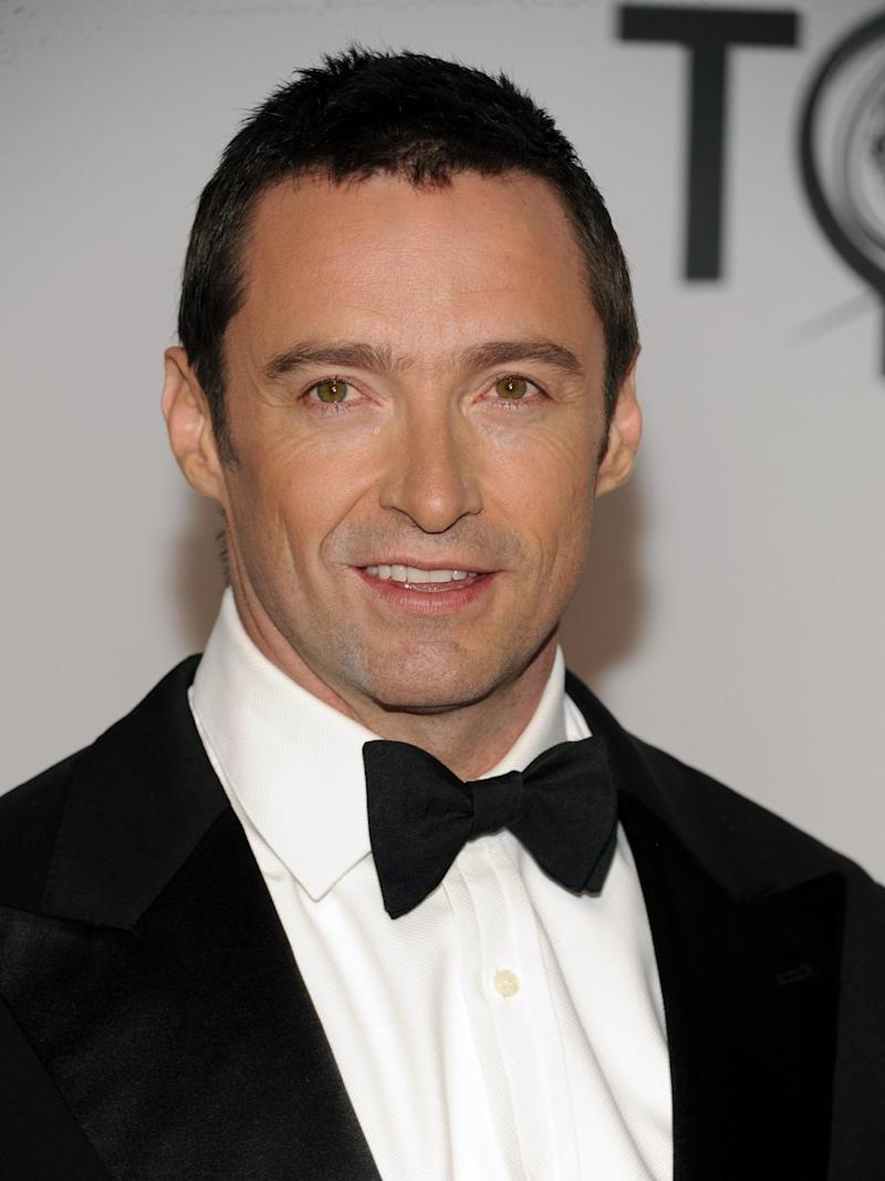 FILE - This June 10, 2012 file photo shows actor Hugh Jackman arriving at the 66th Annual Tony Awards in New York. Jackman will host the world's largest short film festival called Tropfest when it comes to New York for the first time. The festival originated in Sydney where it's attended by more than 150,000 people annually.  (Photo by Evan Agostini /Invision/AP, file)