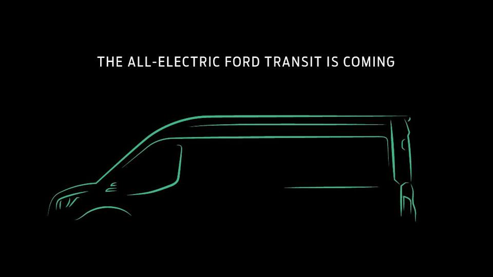 Ford is bringing an all-electric version of its Transit van to North America, beginning in the 2022 model year.