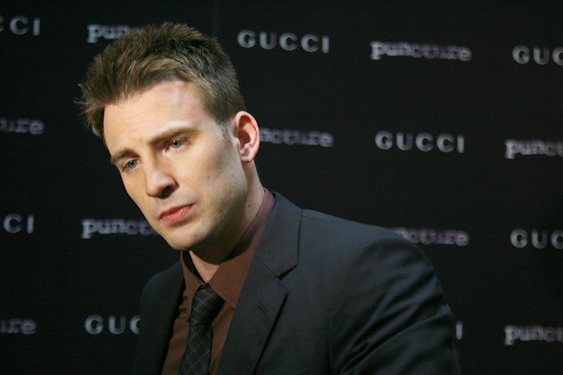 "Actor Chris Evans attends the ""Puncture"" premiere at the Angelika Film Center on September 15, 2011 in New York City."