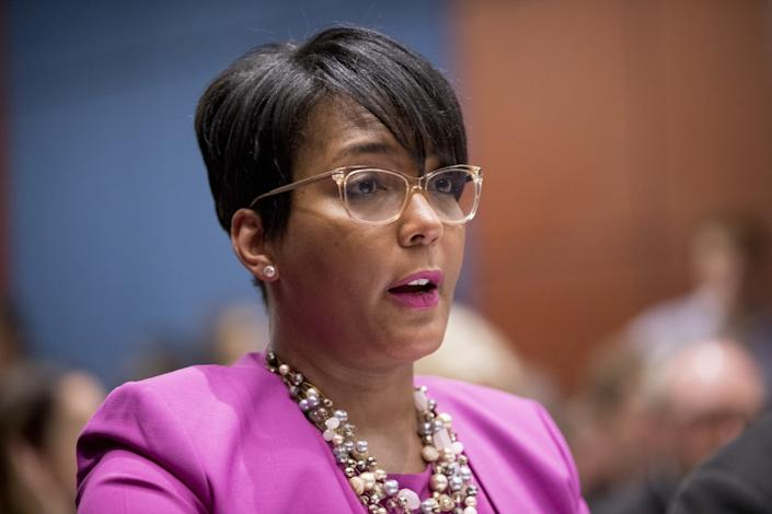 Atlanta Mayor Keisha Lance Bottoms has led her city amid a COVID-19 outbreak and protests against racial bias in policing.
