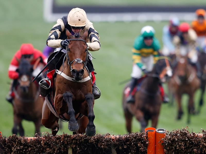 Ruby Walsh rode four winners home on Thursday, but what chance of a Gold Cup victory?: Getty