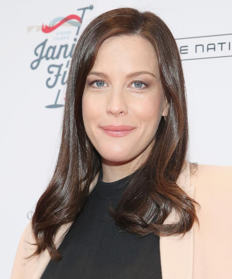 6c3e0b8d1b8 Liv Tyler Celebrates Her Birthday with Adorable Gift from Her Kids