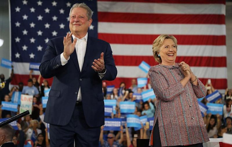 """Gore believes if Hilary Clinton had claimed election victory last year, the US would be closer to solving this """"existential threat to our future"""". Source: Getty"""