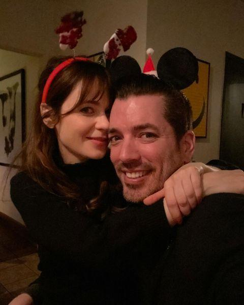 """<p>Property Brother Jonathan Scott chose the perfect quarantine partner in Zooey Deschanel. He <a href=""""https://people.com/home/jonathan-scott-calls-girlfriend-zooey-deschanel-the-perfect-person-to-social-distance-with/"""" rel=""""nofollow noopener"""" target=""""_blank"""" data-ylk=""""slk:told People"""" class=""""link rapid-noclick-resp"""">told <em>People</em></a> that she's a great cook and wonderful musician, making the time spent together special. </p><p>""""I'm blown away, it's really been wonderful,"""" Jonathan said. """"I think we're just taking it one day at a time here and it's a crazy thing nobody would have predicted. But I'm glad that I'm with somebody that I love.""""</p><p><a href=""""https://www.instagram.com/p/CDecY-QnjRk/"""" rel=""""nofollow noopener"""" target=""""_blank"""" data-ylk=""""slk:See the original post on Instagram"""" class=""""link rapid-noclick-resp"""">See the original post on Instagram</a></p>"""