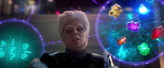 The Collector (Benicio Del Toro)'s collecting days appear to be over. (Photo: Marvel Studios)